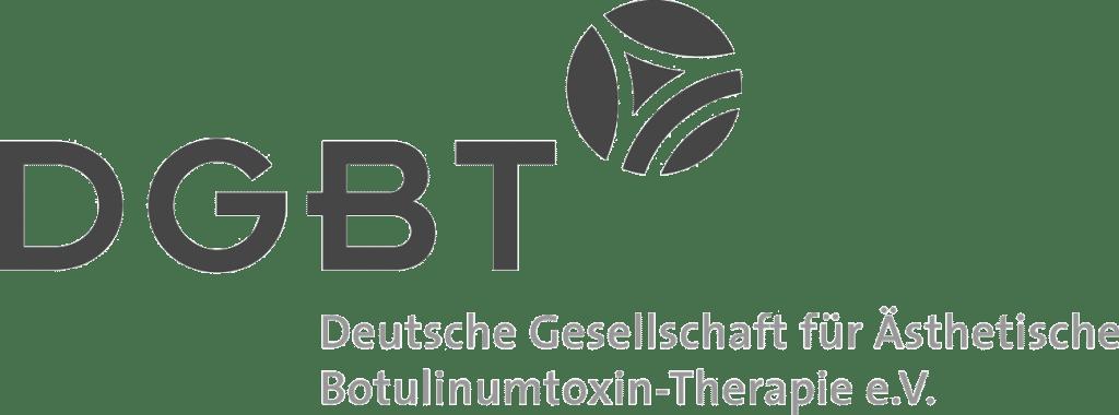 Logo DGBT Deutsche Gesellschaft für Ästhetische Botulinumtoxin-Therapie e.V.