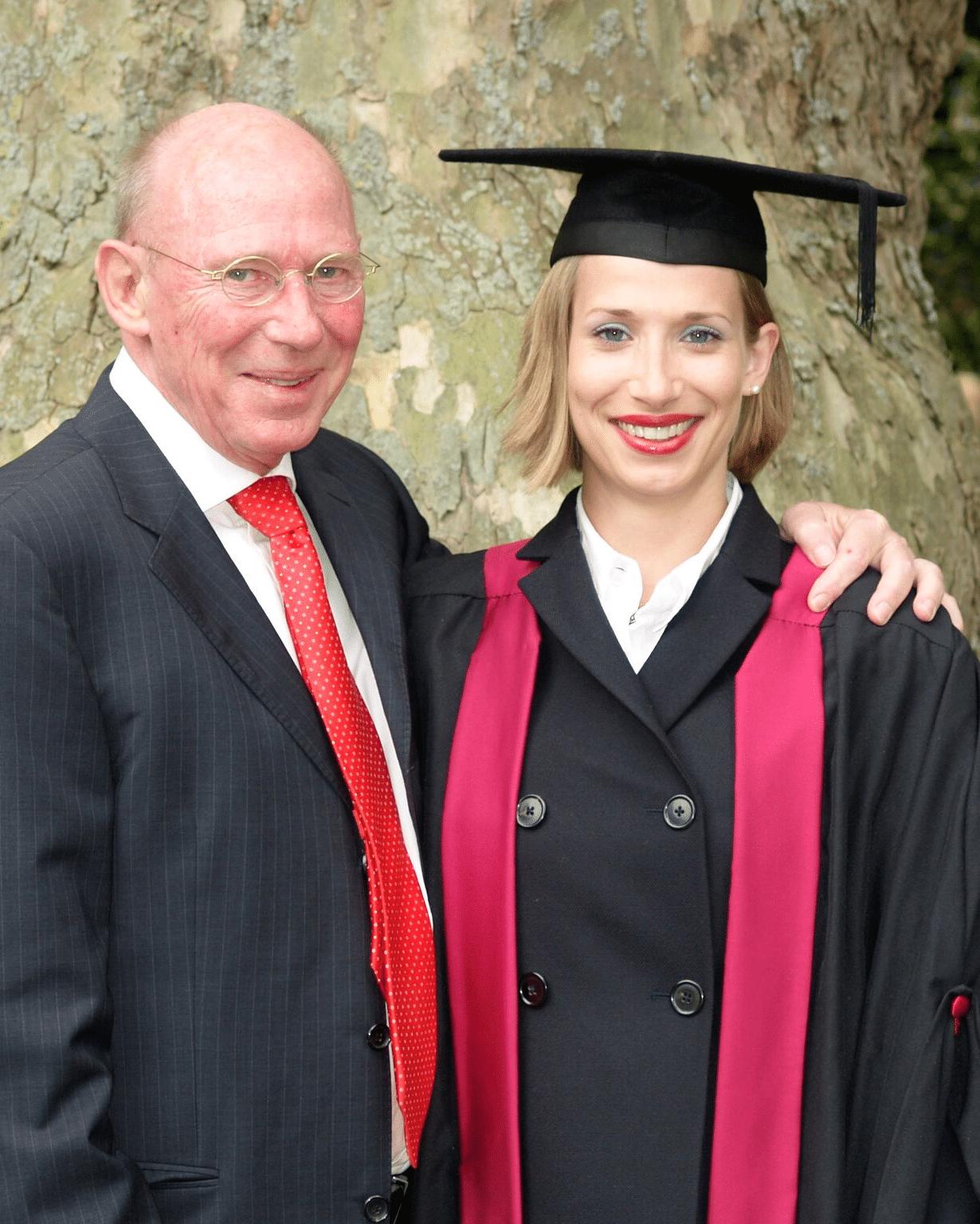 Frau Dr. Pirkko Schuppan bei Ihrer Graduierung