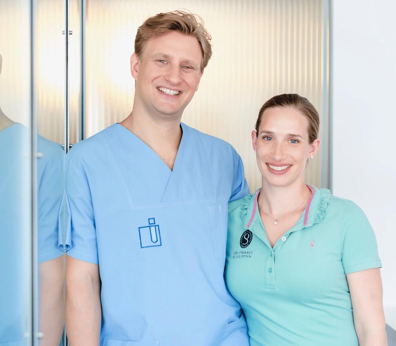 Frau Dr. Pirkko Schuppan und Ihr Mann Dr. Jesko Schuppan