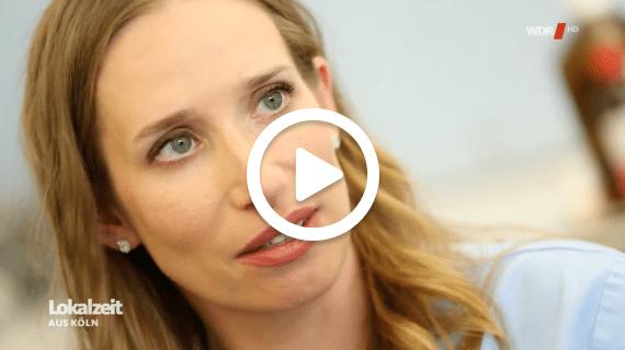 Frau Dr. Pirkko Schuppan in der Sendung Klappstuhl beim WDR