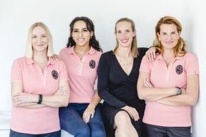 Das Team der Praxis von Frau Dr. Pirkko Schuppan in Köln